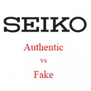 Cách phân biệt đồng hồ Seiko thật - giả