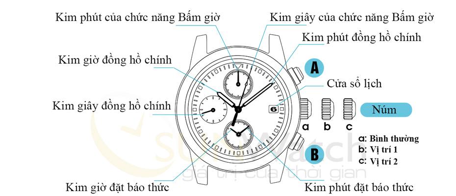 Tổng quan về đồng hồ Seiko sử dụng máy 7T62