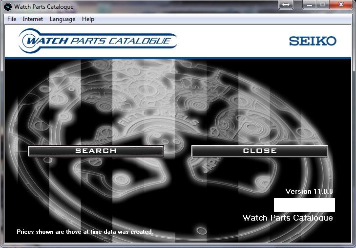 Phần mềm kiểm tra đồng hồ Seiko